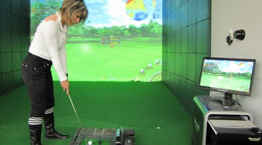 Le simulateur de golf: une alternative de détente