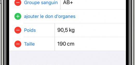 Comment enregistrer des contacts d'urgence sur iPhone