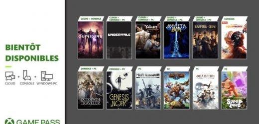 Découvrez les prochains jeux disponibles sur Xbox Game Pass